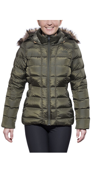 The North Face Gotham Jacket Women forest night green